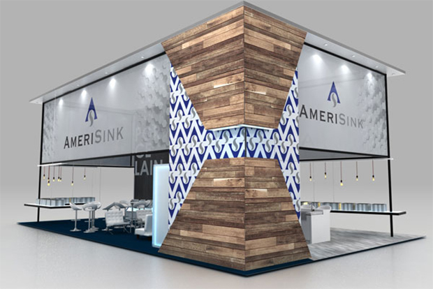 AmeriSink Custom Trade Show Display
