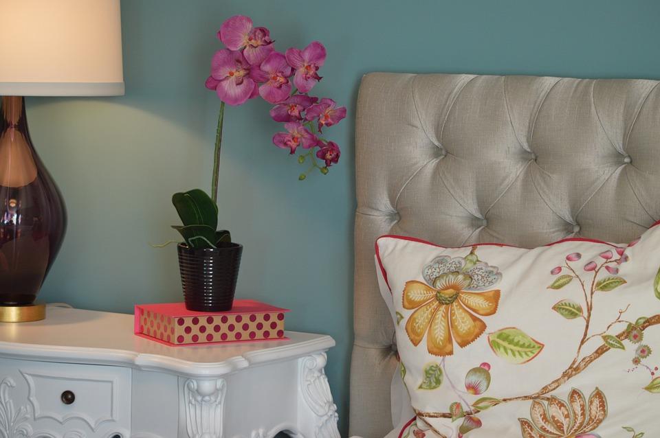 Artificial Silk Florals For Bedroom