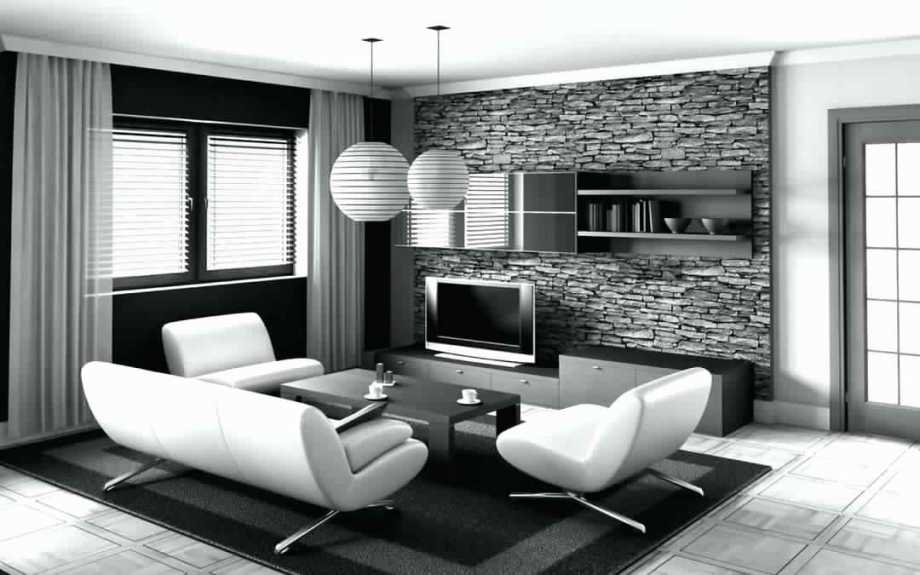 Black And White Interior Theme