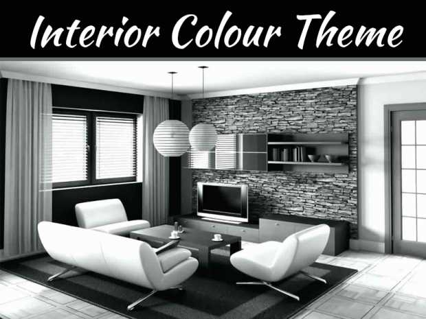 Black And White Interior Theme For Modern Apartments