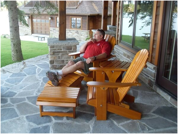 Comfortable Adirondack Chair