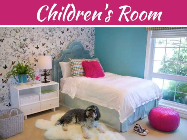 Cute Wall Colour Ideas For The Children's Room