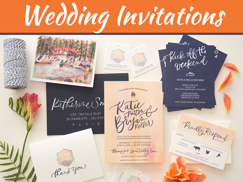 How To Plan For Your Photo Wedding Invitations