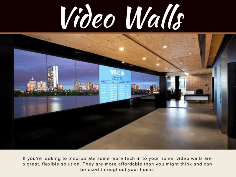 How To Use Video Walls In Your Home