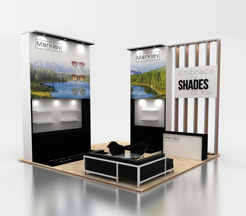 Markley Custom Trade Show Display