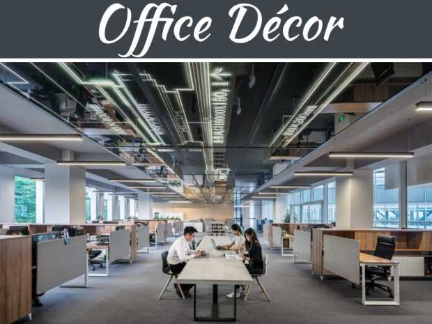 Office Décor And Design Techniques