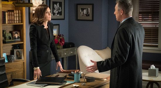 The Good Wife (Alicia Florrick's home office)