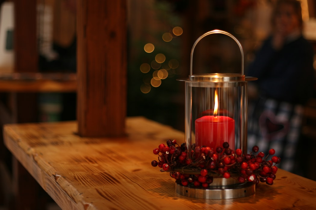 Christmas Candle Lights Decoration Ideas