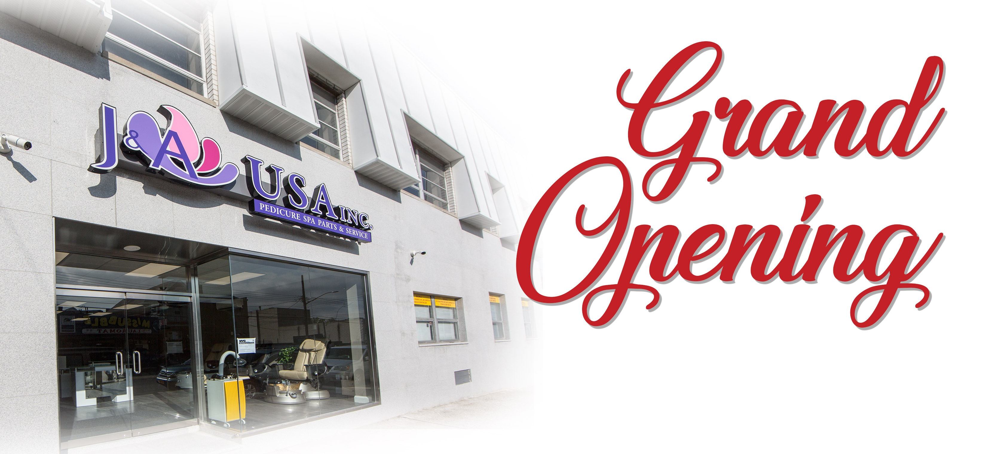 Grand Opening Advertise Of New Salon
