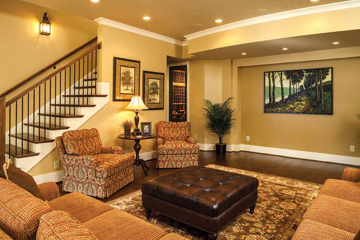 Basement Furniture And Interior