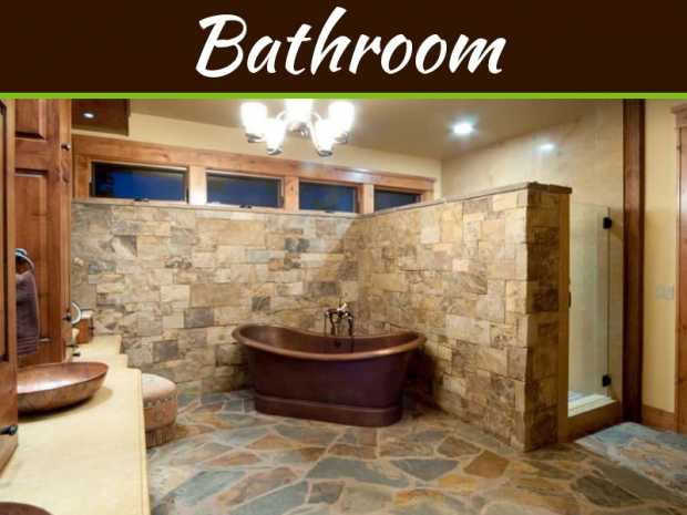 How To Create A Gleaming Bathroom With Unique Stone Additions