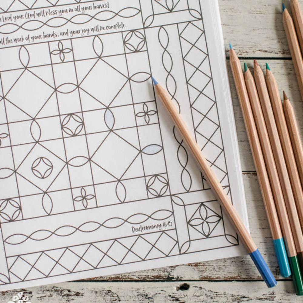 Draw The Pattern With A Pencil