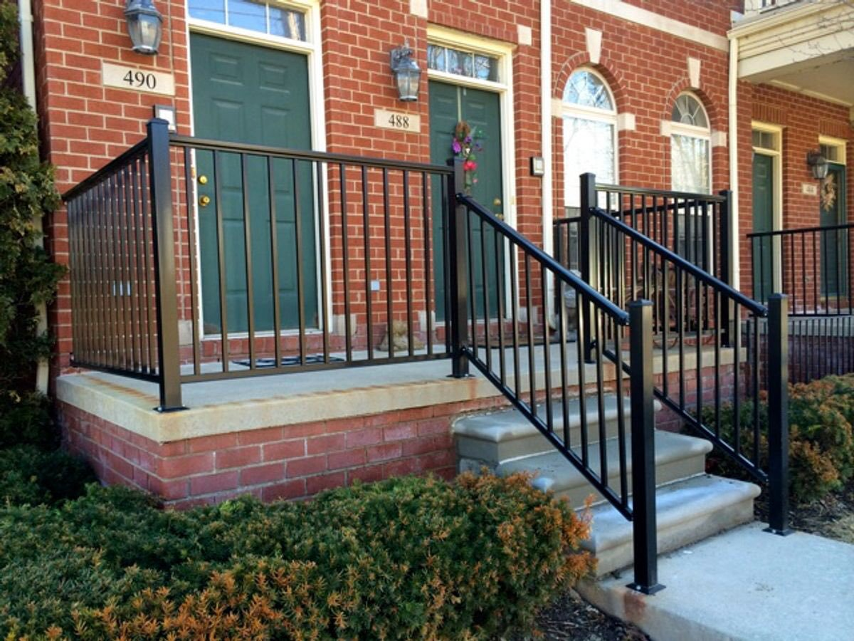 Porch Safety Railing