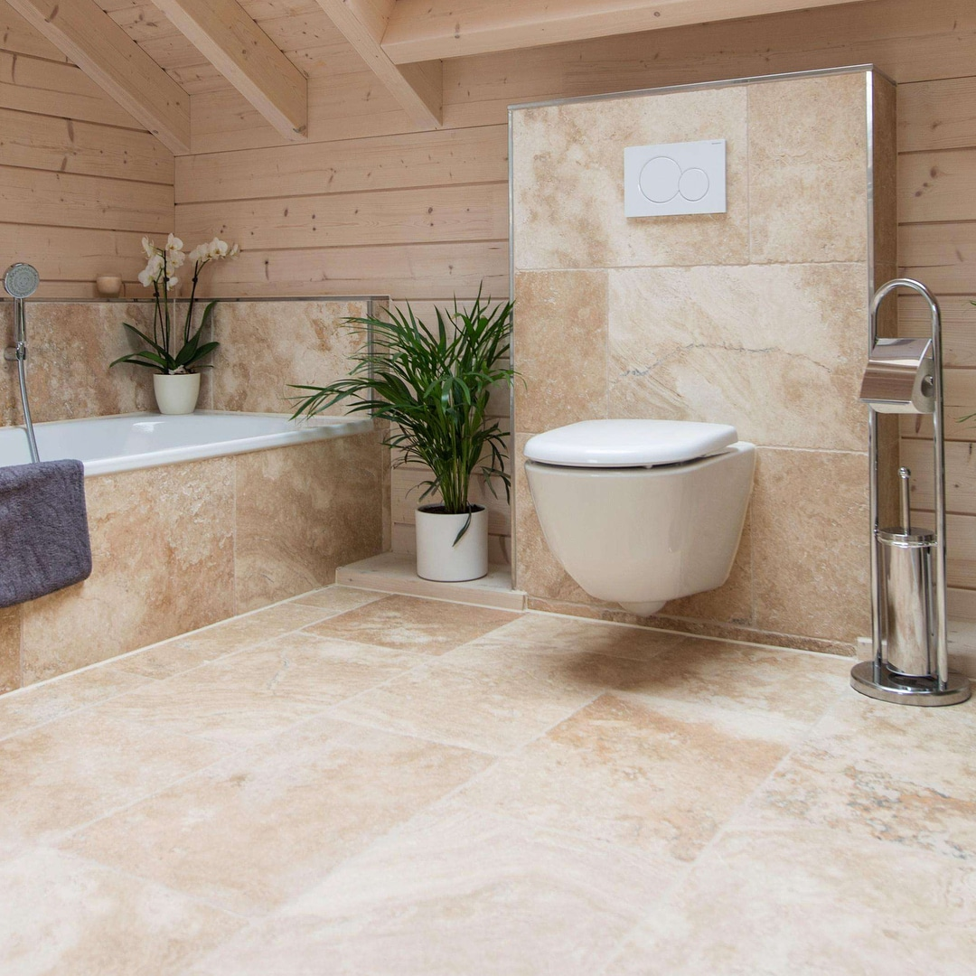 How To Create A Gleaming Bathroom With Unique Stone Additions My