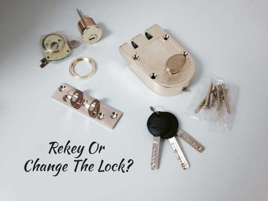 The Difference Between Re-Keying And Changing Locks