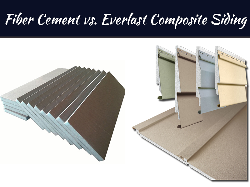 The Durability Of Fiber Cement vs. Everlast Composite Siding