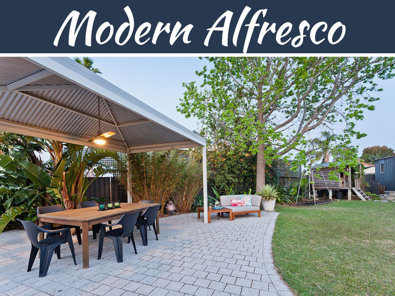 The Modern Alfresco Look