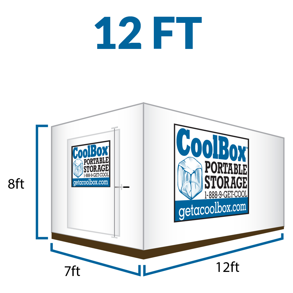 12 Feet Cool Box Portable Moving Container