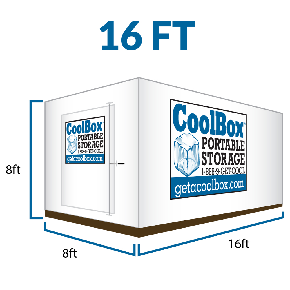 16 Feet Cool Box Portable Moving Container