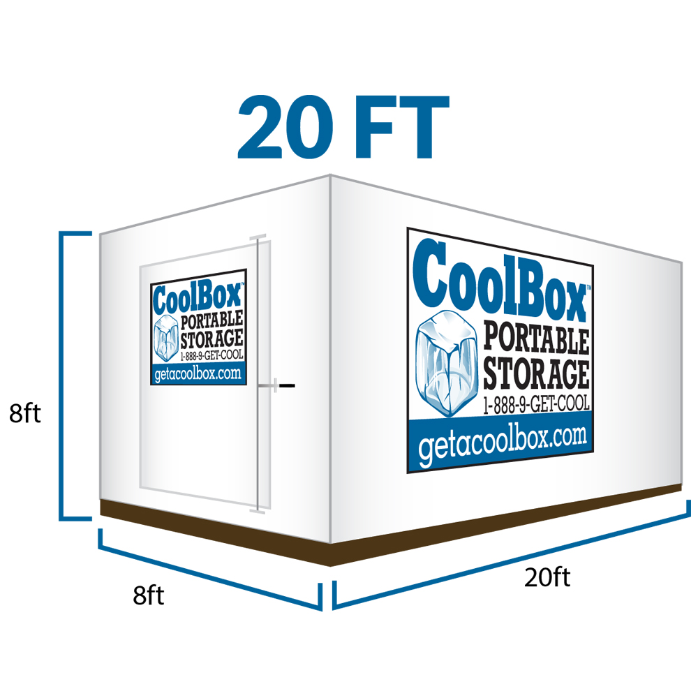 20 Feet Cool Box Portable Moving Container