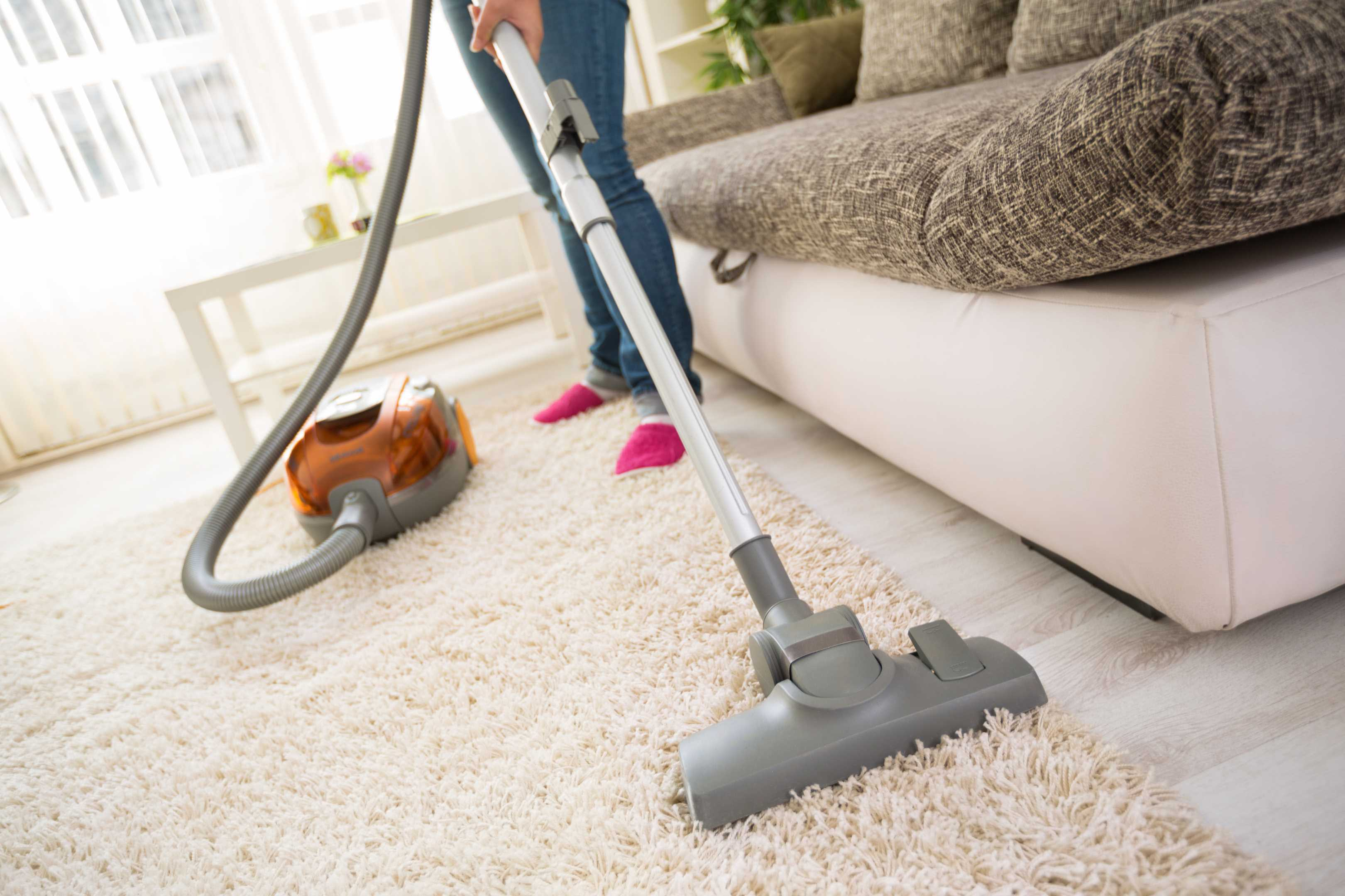 Rug Vacuuming