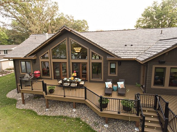 Easy To Maintain Log Cabin Home