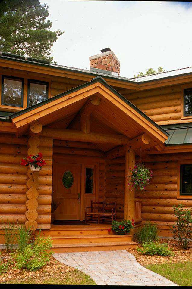 Health-Friendly Log Cabin Home
