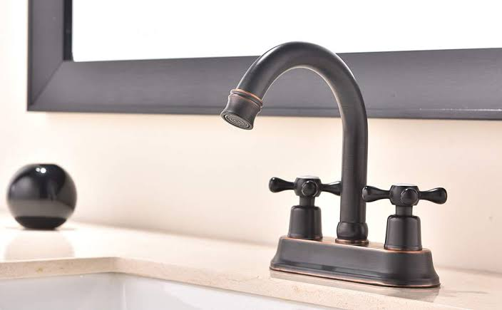 Oil-Rubbed Bronze Faucet