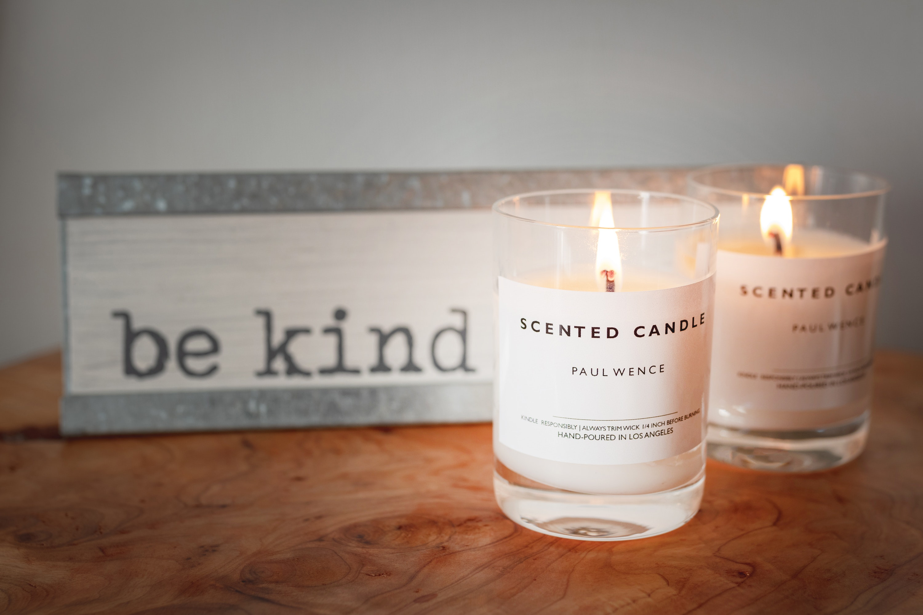 Scented Candles Office Desk Decor