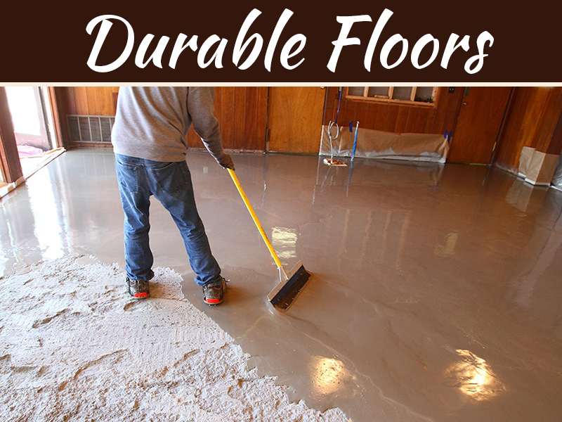 Self-Leveling Epoxy Can Give You Attractive and Durable Floors