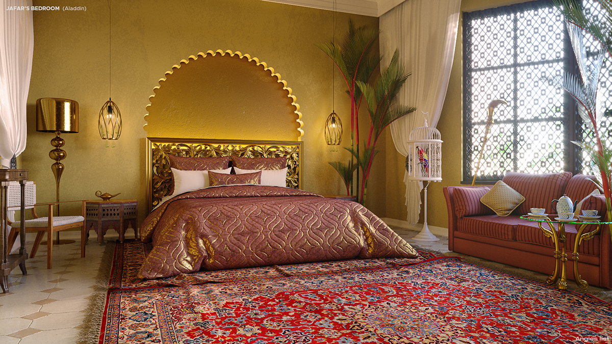 Disney Villains Decorate Homes Jafar