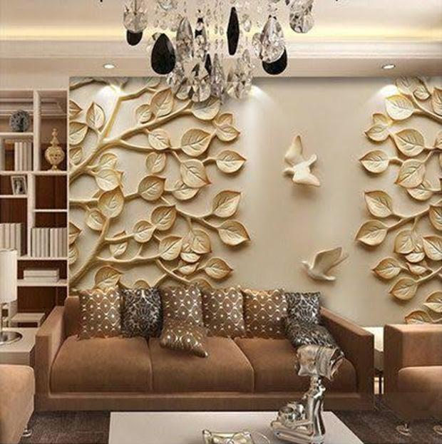 3-D Texturing Wall
