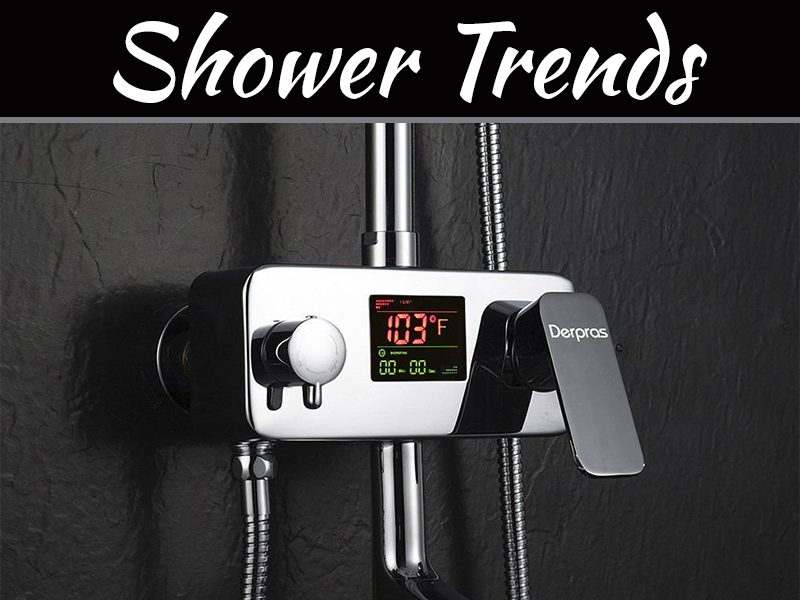 5 Current Shower Trends