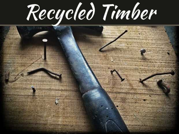9 Great Applications For Recycled Timber