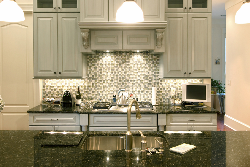 Best Cabinet Color With Black Granite