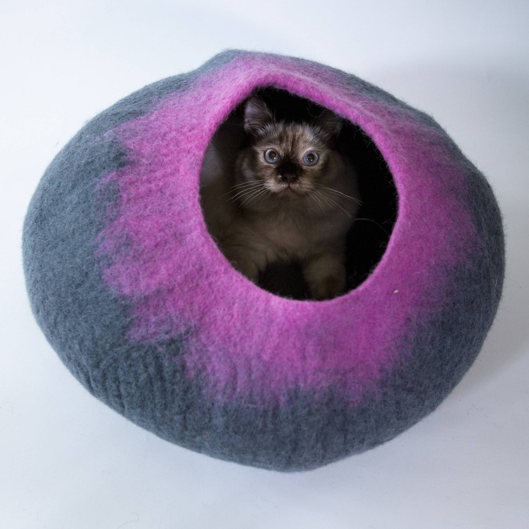 Cozy Colourful Cat Caves