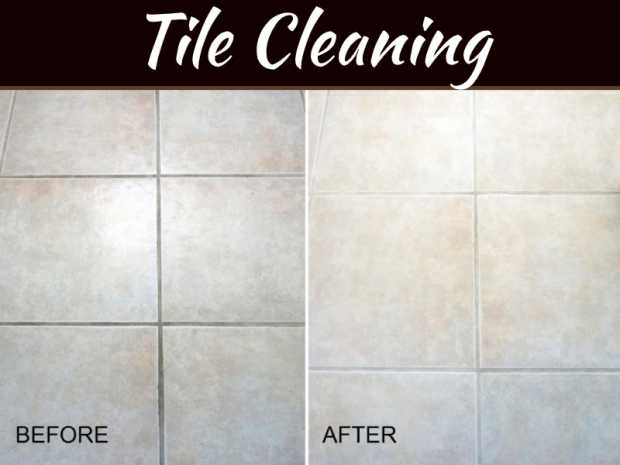 DIY Steps to Clean Tile & Grout