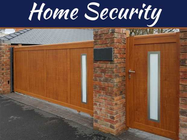 How Do Electric Gates Enhance The Appearance And Security Of A Home?