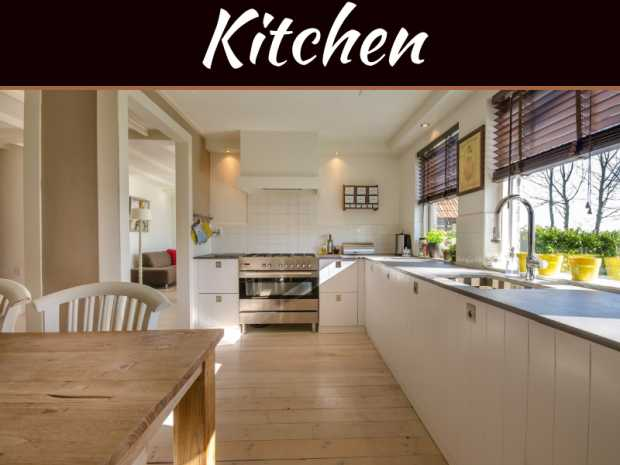 Kitchen Is the Center of a Modern Home