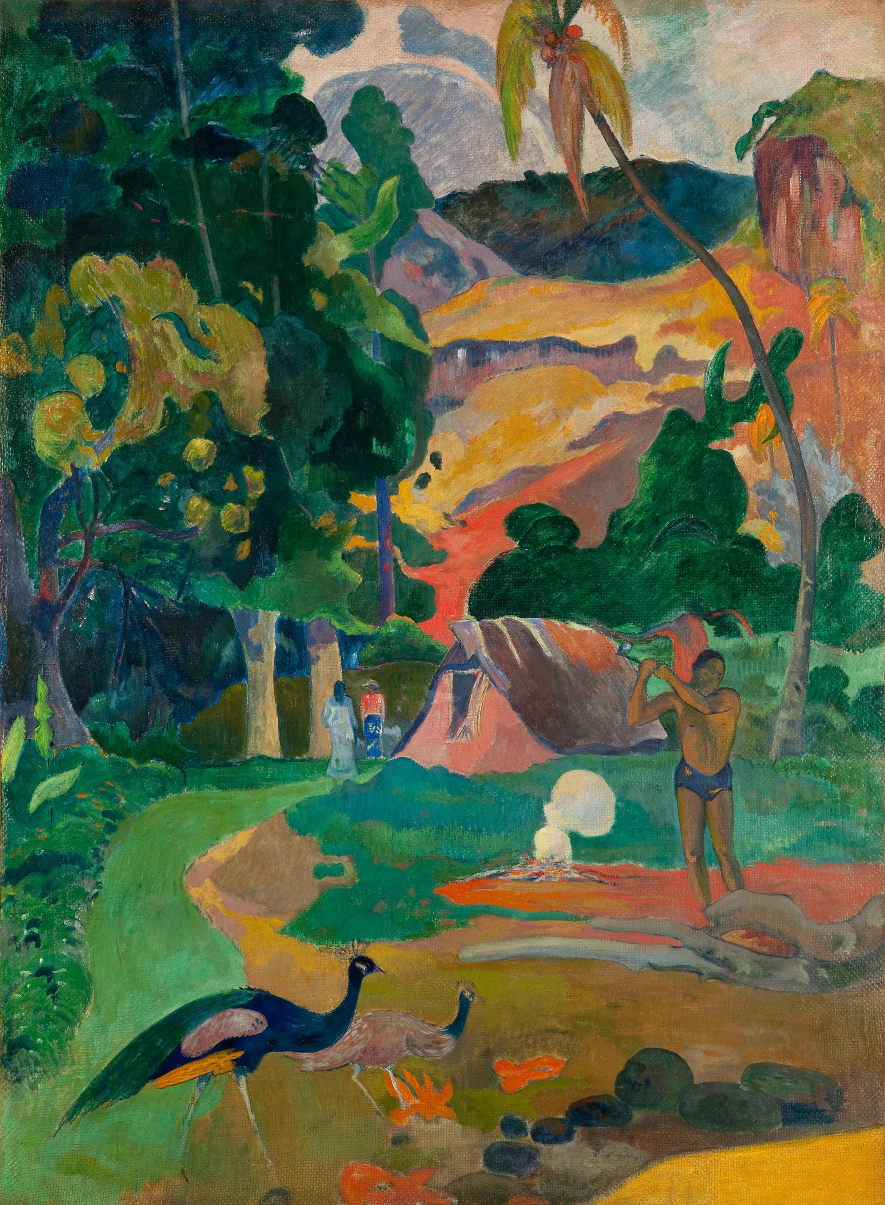 Matamoe (Landscape with Peacocks)