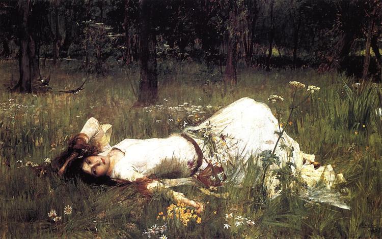 Ophelia, 1889, John William Waterhouse
