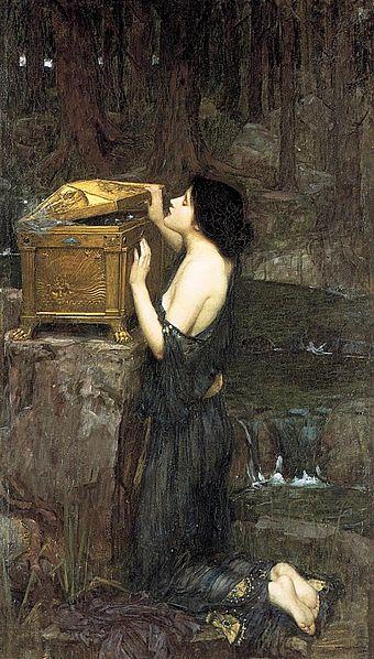 Pandora, 1896, John William Waterhouse