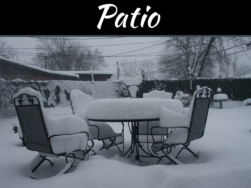 Prepping Your Patio Before the First Snowfall