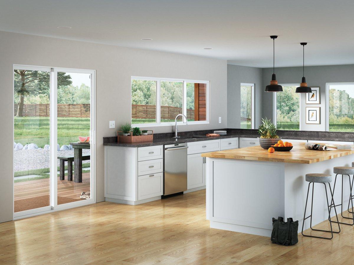 Quirky Kitchen Windows