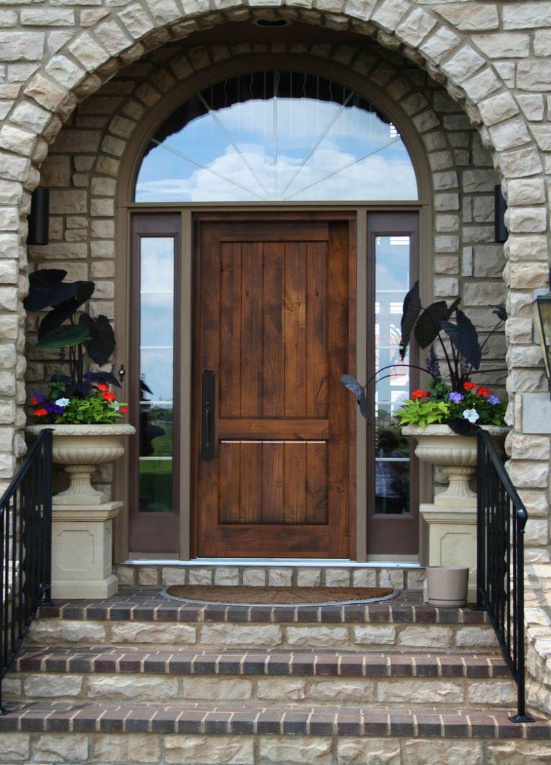 Rustic Front Entry Door