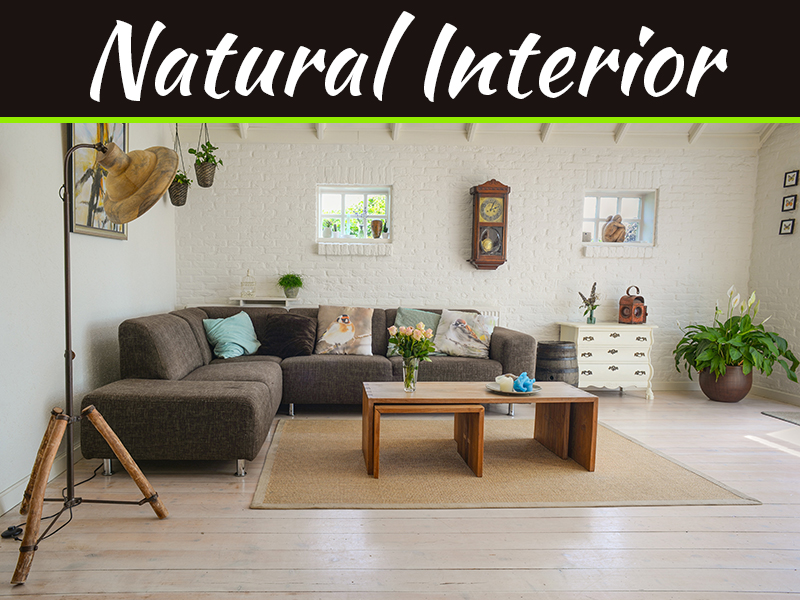 Significance Of Natural Materials In Your Interior Design