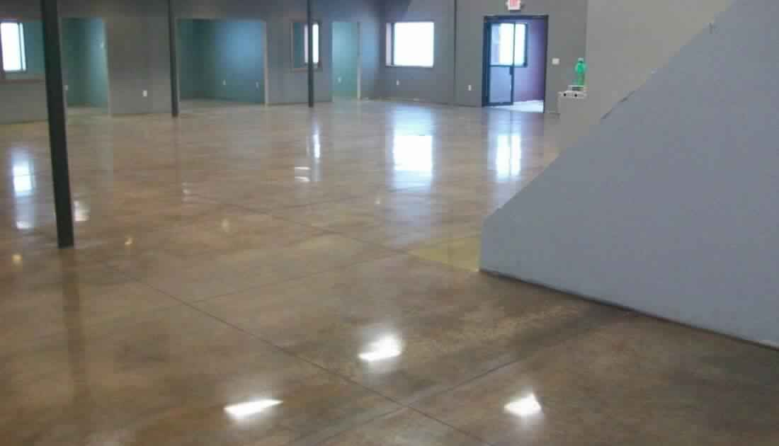 Stained Concrete Floor In Orlando