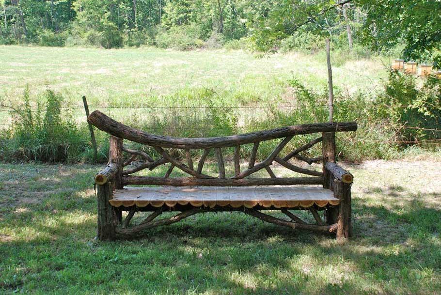 Timber Garden Bench