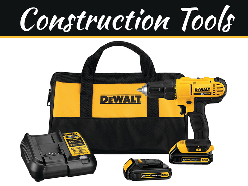 Today's Most Powerful Construction Tools