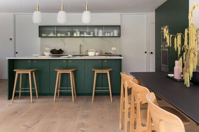 Wood Furniture in Kitchen
